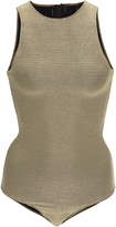 Rochelle Sara Ribbed Brittany Zip Back One PIece
