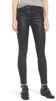 Current/Elliott Women's The High Waist Ankle Skinny Jeans