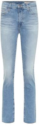 AG Jeans Mari mid-rise straight jeans