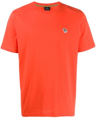 Paul Smith embroidered zebra relaxed-fit T-shirt