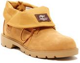 Timberland Roll Top Single Shot Wheat Boot (Big Kid)