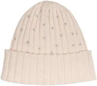 Carolyn Rowan Accessories Starry Wool Blend Hat
