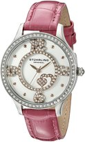 Stuhrling Original Women's 760.03 Symphony Analog Display Quartz Pink Watch