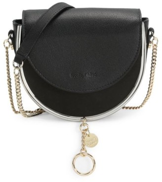 See by Chloe Mara Evening Leather Crossbody Bag