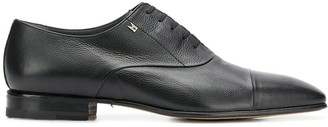 Moreschi square toe derby shoes