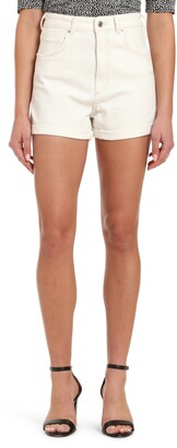 Mavi Jeans Clara High Waist Denim Shorts