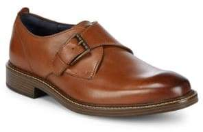 Cole Haan Leather Kennedy Monk Strap Shoes