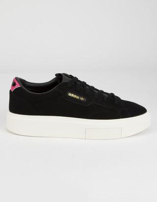 adidas Sleek Super Womens Black Shoes