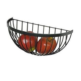 Enclume Handcrafted Wire Fruit Basket Hammered Steel