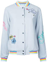 Mira Mikati embroidered bomber jacket