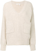 Chloé chunky knitted sweater - women - Acetate/Wool/Alpaca - XS
