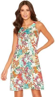 M&Co Hawaiian floral beach dress