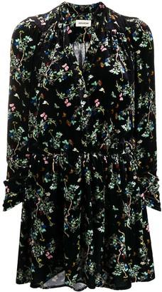Zadig & Voltaire Floral Print Dress