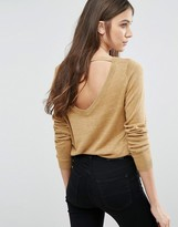 Vila Scoop Back Sweater