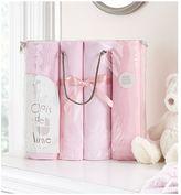 Clair De Lune 4 Piece Cot Bed Bale - Pink