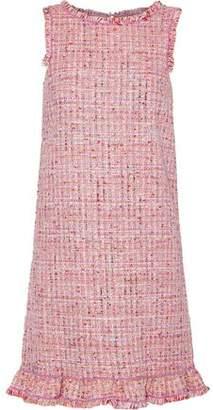 Moschino Metallic Boucle-tweed Mini Dress