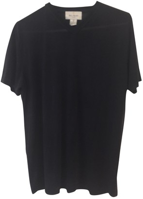 Bill Blass Black Silk T-shirts