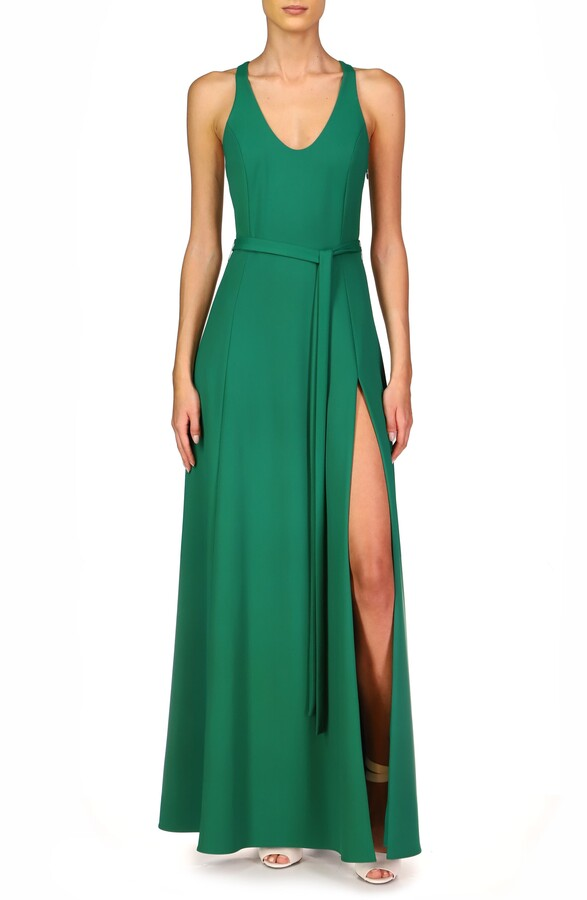 Thumbnail for your product : Halston Evening Lydia Racerback Gown