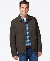 Tommy Hilfiger Full-Zip Micro-Twill Jacket