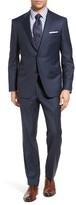 Men's Samuelsohn Classic Fit Sharkskin Wool Suit