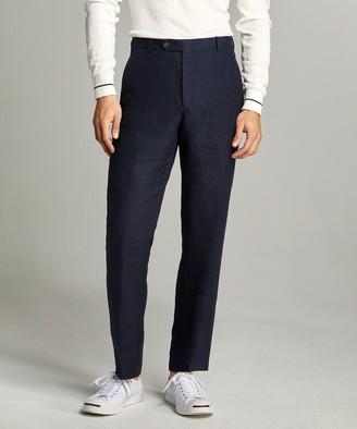 Linen Sack Suit Trouser in Indigo