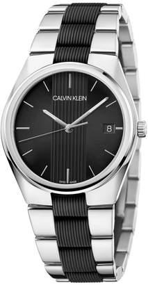 Contrast Silicone Bracelet Watch