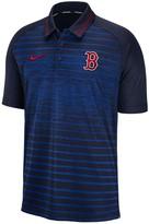 Nike Men's Boston Red Sox Dri-FIT Stripe Polo