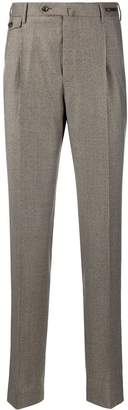 Pt01 houndstooth tailored trousers