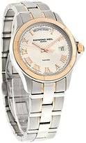 Raymond Weil Men's 2965-SG5-00658 Parsifal Automatic Rose Gold and Stainless Steel Silver Dial Watch