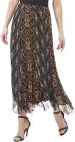 Anna Sui Chiffon Panel Skirt