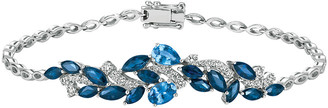 LeVian Le Vian Royal Blues 14K 4.28 Ct. Tw. Diamond & Sapphire Bracelet