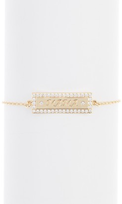 Lulu DK CZ Bar Bracelet