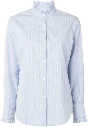 Nili Lotan Pinstripe Fitted Shirt