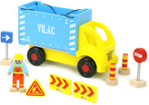 Vilac Container Ship and Accessories Multicoloured