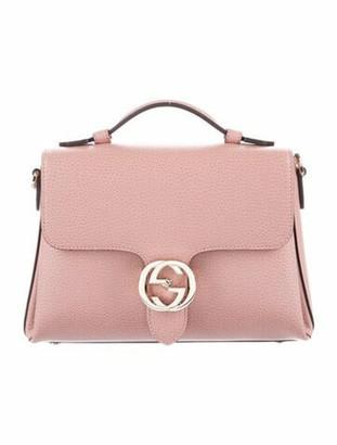 Gucci Dollar Interlocking G Top Handle Bag Pink