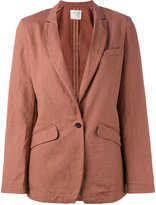 Forte Forte flap pockets blazer - women - Cotton/Linen/Flax - I