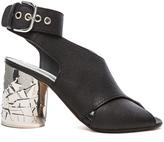 Maison Margiela Shattered Glass Leather Heels