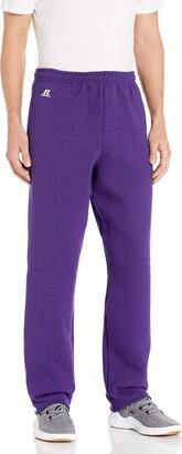 Russell Athletic Men's Dri-Power Fleece Open Bottom Sweatpants with Pockets