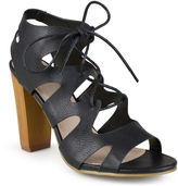 Journee Collection Azure Lace-Up Gladiator Sandals