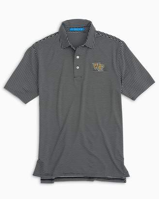 Southern Tide Wake Forest Striped Polo Shirt