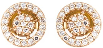 Astley Clarke mini 'Icon Aura' diamond stud earrings