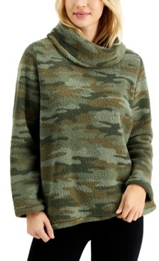 Style&Co. Style & Co Cowlneck Pullover Sweater, Created For Macy's