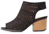 Charlotte Russe Qupid Laser Cut Slingback Sandals