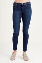 True Religion Cora High Rise Straight Cropped Womens Jean