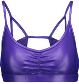 Koral Element Metallic Cutout Stretch Sports Bra