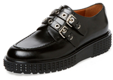 Valentino Garavani Leather Platform Oxford