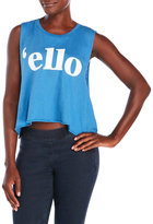 Wildfox Couture Ello Muscle Tank