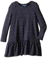 Polo Ralph Lauren Modal Jersey Floral Dress (Toddler)