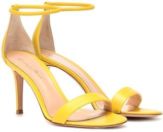 Gianvito Rossi Asia 85 leather sandals