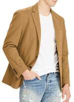 Polo Big And Tall Notch Buttoned Jacket
